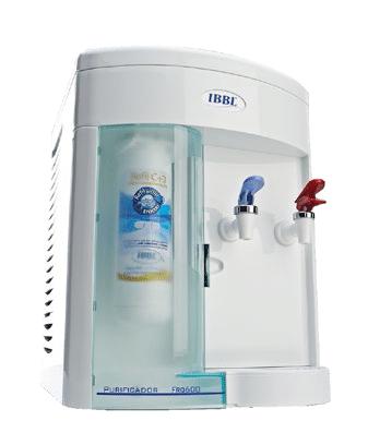 Purificador Dispensador de agua Fría y Caliente FRQ-600