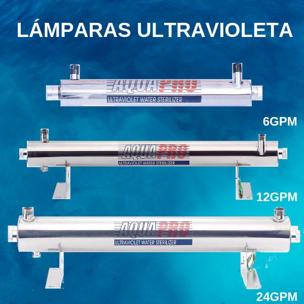 LAMPARAS ULTRAVIOLETA